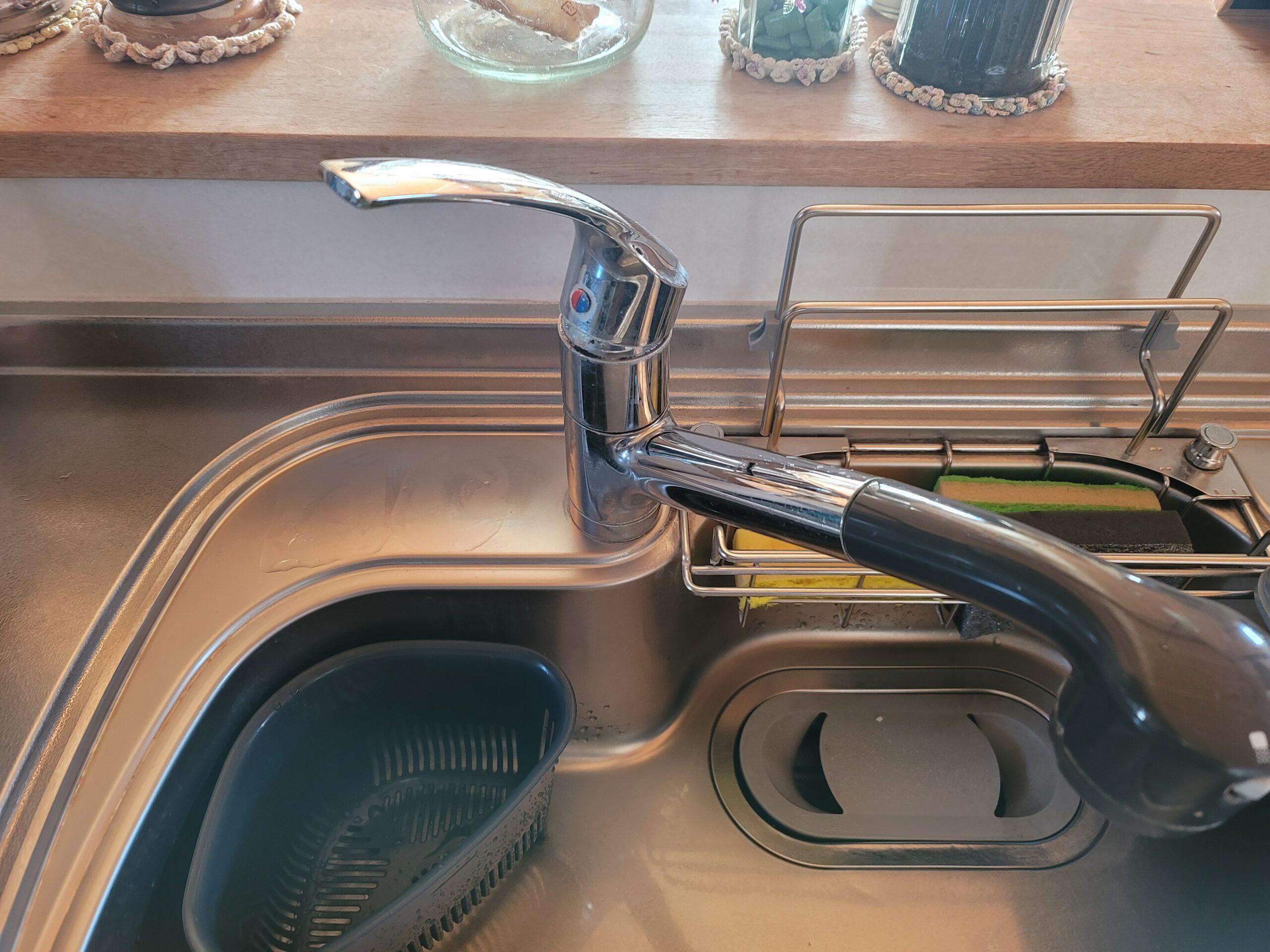 キッチン水栓交換前の写真