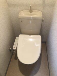 取付後トイレの写真