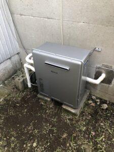 交換後給湯器の写真