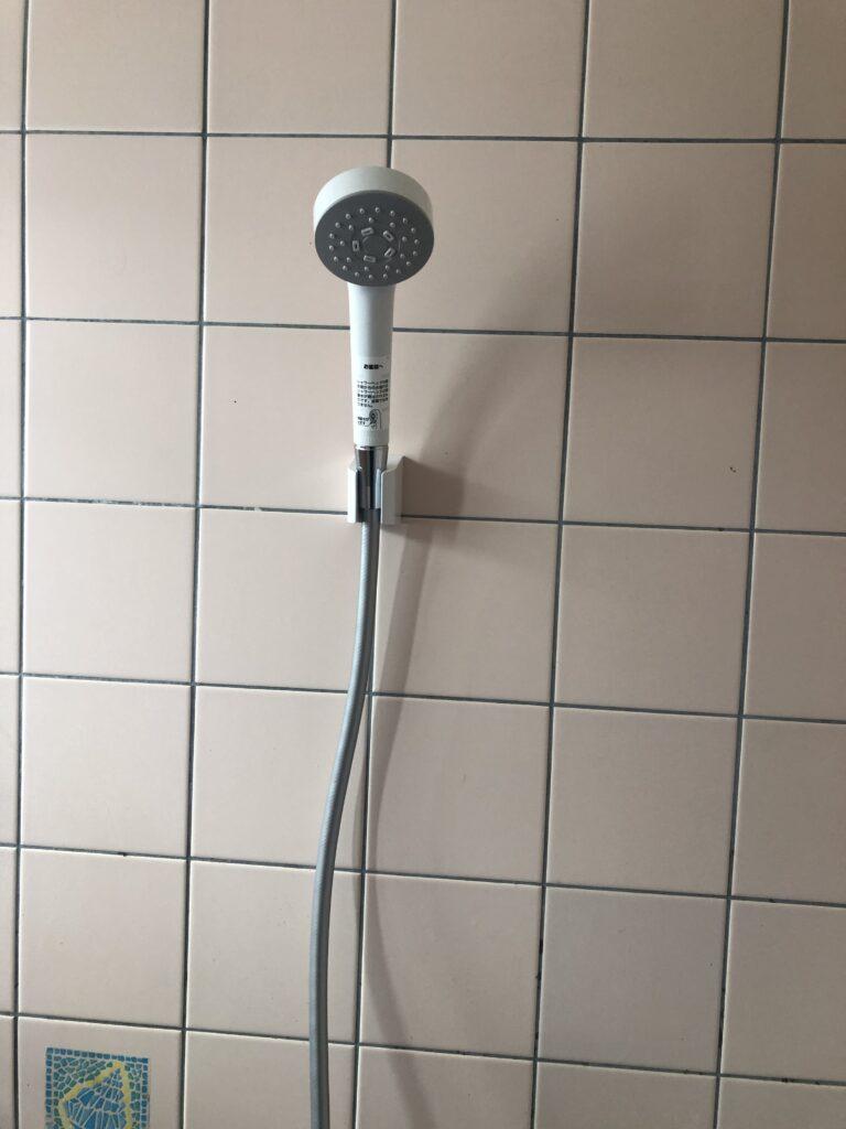 交換後シャワーの写真