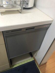 交換後食洗機の写真