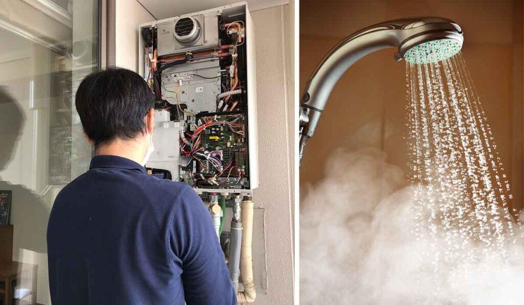給湯器交換のイメージ写真