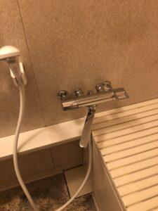 交換後浴室水栓の写真